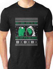 Funny Kermit Ugly Christmas Sweater Unisex T-Shirt