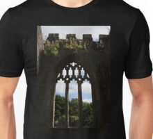 Window of a Ruined Church Unisex T-Shirt