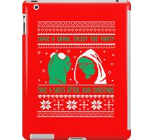 Funny Kermit Ugly Christmas Sweater iPad Case/Skin