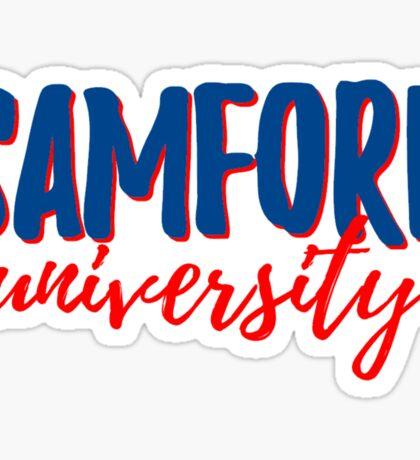 Samford University Sticker