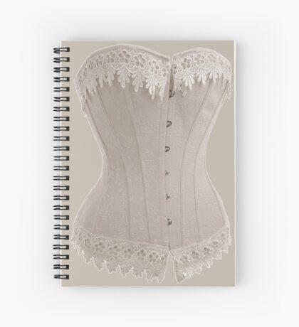Vintage Victorian Corset Spiral Notebook
