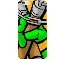 Michelangelo's weapon of choice iPhone Case/Skin