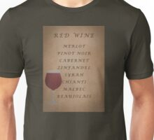 Red Wines Unisex T-Shirt