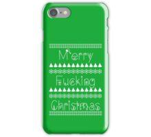 Rude Christmas iPhone Case/Skin