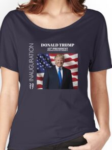 President Donald J. Trump Inauguration Day 2017 Women's Relaxed Fit T-Shirt