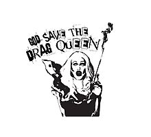 God Save The Drag Queen Photographic Print
