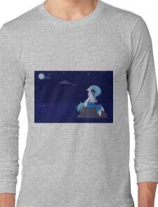 Moongazing, Full  Long Sleeve T-Shirt