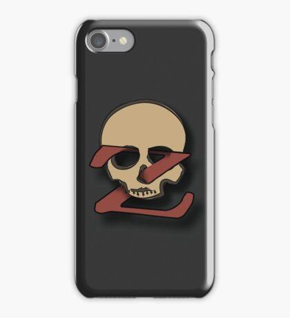 The Z List Dead List Podcast Original Logo iPhone Case/Skin