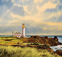 Turnberry Golf Course 9th Tee by bill holkham
