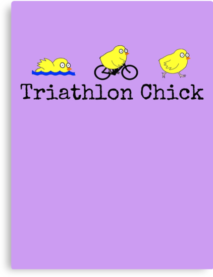 Triathlon Chick by Rob Price