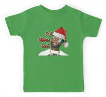 Gucci Mane East Atlanta Santa Christmas Kids Tee