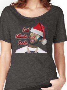 Gucci Mane East Atlanta Santa Christmas Women's Relaxed Fit T-Shirt