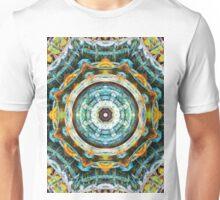 Fractal Glass Kaleidoscope Unisex T-Shirt