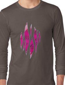Dedsec Graffiti Spray Custom Pink Long Sleeve T-Shirt