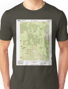 USGS TOPO Map California CA Willow Creek 102563 1997 24000 geo Unisex T-Shirt