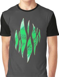 Dedsec Graffiti Spray Custom Green Graphic T-Shirt
