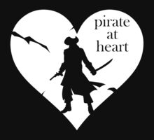Pirate at Heart Kids Tee