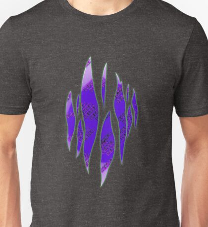 Dedsec Graffiti Spray Custom Purple Unisex T-Shirt