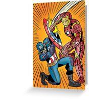 Captain America: Civil War Greeting Card