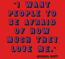 Custom for B -  Michael Scott Quote2 One Piece - Short Sleeve