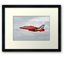 2014 Red Arrows - Hawk T1A Framed Print