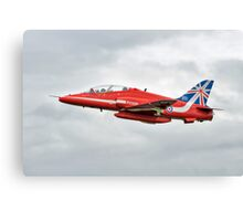 2014 Red Arrows - Hawk T1A Canvas Print