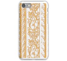 Regal Decor Design Gold iPhone Case/Skin