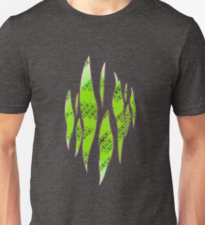 Dedsec Graffiti Spray Custom Green Unisex T-Shirt