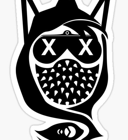 Wrench Vector Art Abstract Sticker