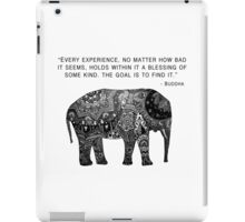 Buddha Wisdom Elephant iPad Case/Skin