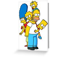 SIMPSON Greeting Card
