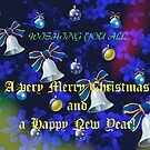 Christmas and New Year Card - Cat and Mouse Carol by MidnightMelody