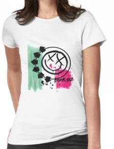Blink 182 Womens Fitted T-Shirt