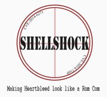 Shellshock making heartbleed look like a rom com Funny Shirt Baby Tee