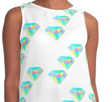 Diamonds or Bust Contrast Tank