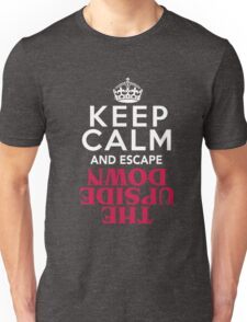 Stranger Things T-Shirt: Keep Calm & Escape the Upside Down Unisex T-Shirt