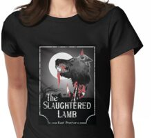 American Werewolf In London - The Slaughtered Lamb Bloody Womens Fitted T-Shirt