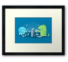 You sunk my navy Framed Print