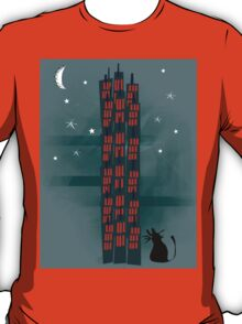 Animal's Nightlife - Urban Cat T-Shirt