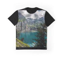 Swiss Alps - Oeschinensee - Switzerland Graphic T-Shirt