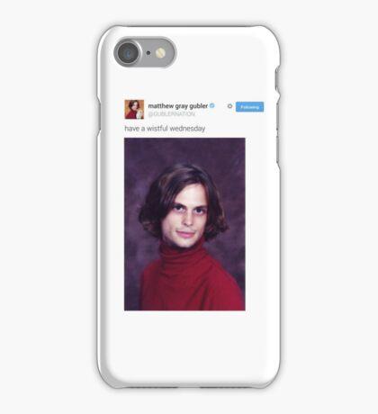 Matthew Gray Gubler Tweets iPhone Case/Skin