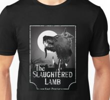 American Werewolf In London - The Slaughtered Lamb B&W Unisex T-Shirt