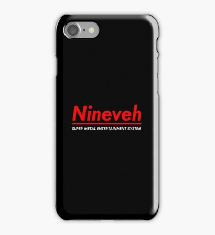 SUPER METAL ENTERTAINMENT SYSTEM iPhone Case/Skin