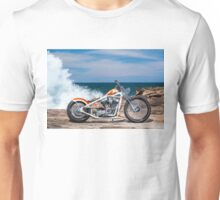 Kyle Smith's Custom Harley Chopper Unisex T-Shirt