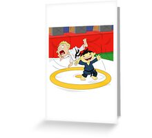 Olympic Sports: Judo Greeting Card