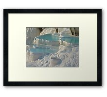 Pamukkale, Turkey Framed Print