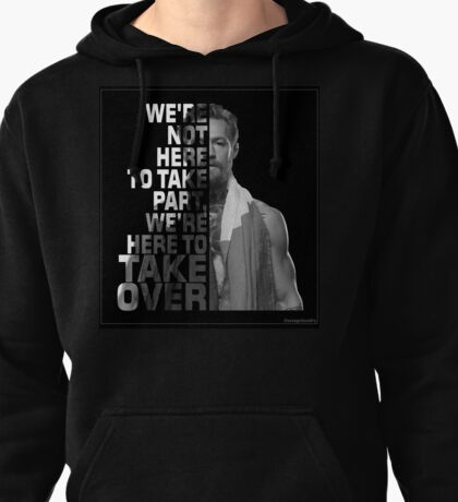 Conor McGregor take over design Pullover Hoodie