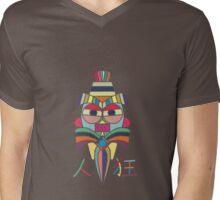 Crazy Person Mens V-Neck T-Shirt