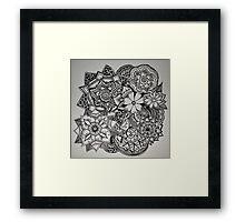 Henna Bunch Framed Print