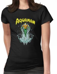 AquaMan - Conqueror Of The Seven Seas Womens Fitted T-Shirt